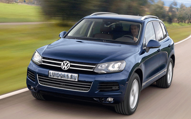 Volkswagen Touareg II Thermo Top C