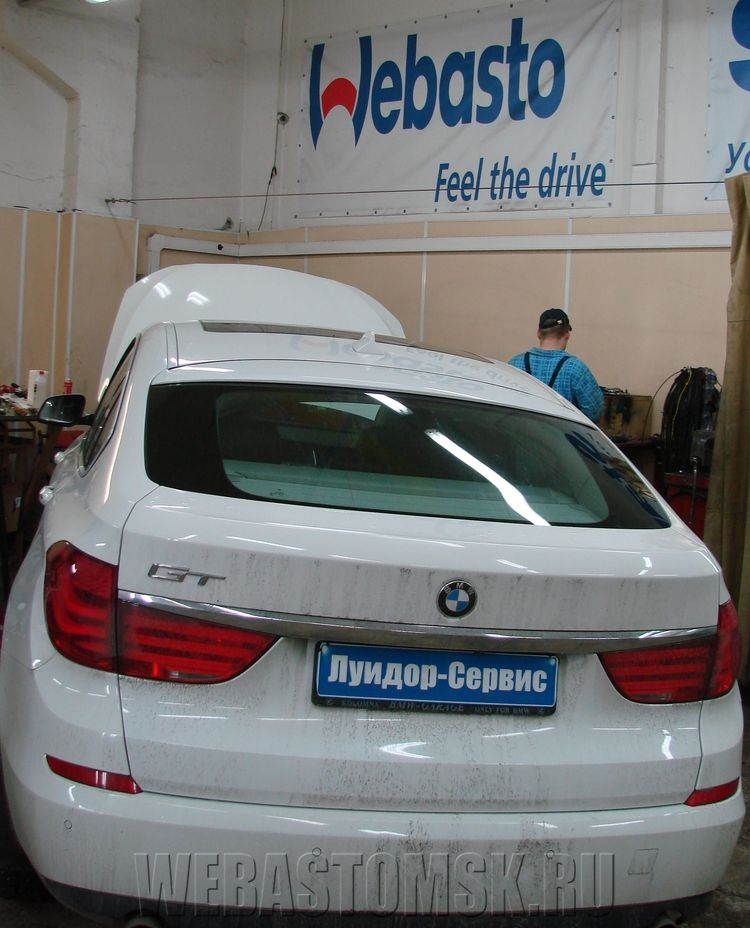 BMW GT. Webasto Thermo Top Evo Comfort+
