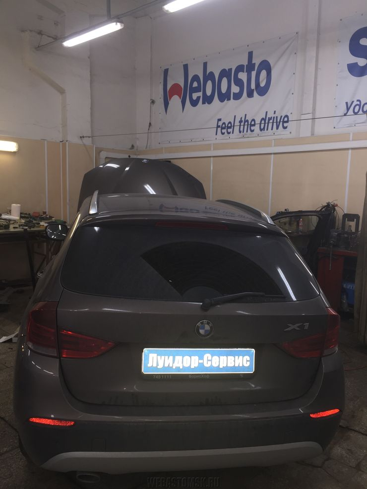 BMW X1 I (E84) 20d Webasto Thermo Top Evo 5