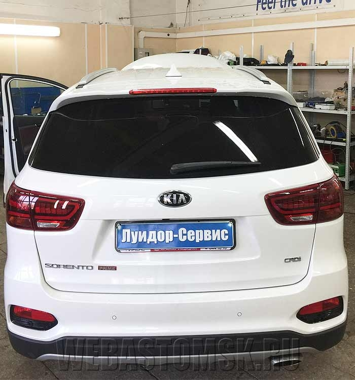 Kia Sorento III Prime. Установка Webasto Thermo top Start (Дизель 5 кВт)