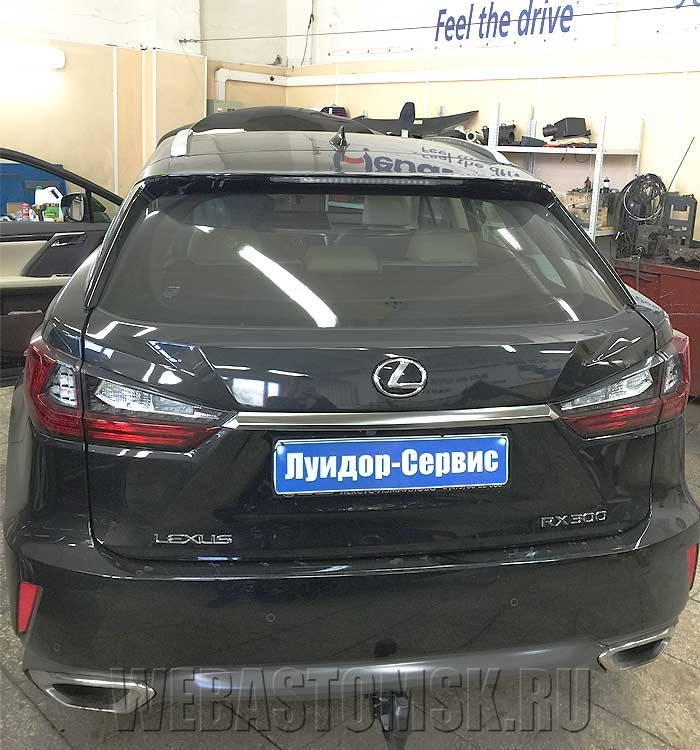 Lexus RX IV 300 установка Webasto Thermo Top Comfort+