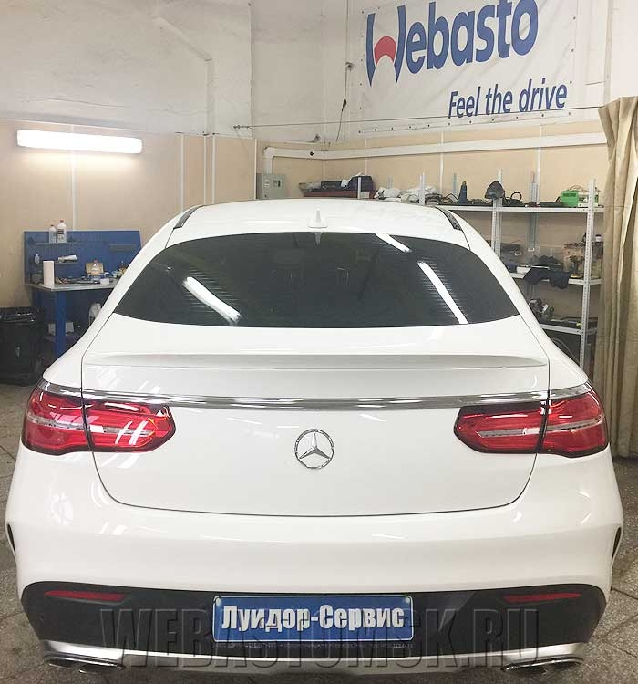 Mercedes-Benz GLE Coupe. Установка Webasto Thermo Top Comfort+
